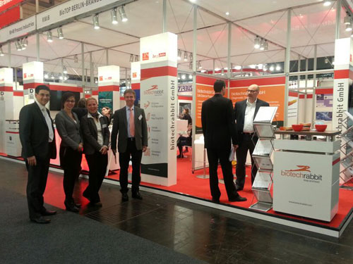 Biotechnica booth